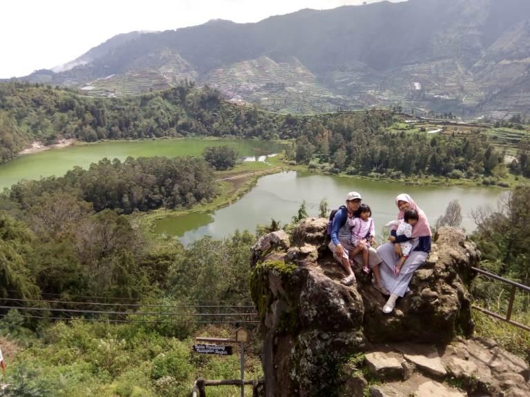 Wisata dieng wonosobo, gardu pandang dieng, batu bandang dieng, wisata dieng yang romantis, wisata dieng yang populer, wisata dieng yang kekinian
