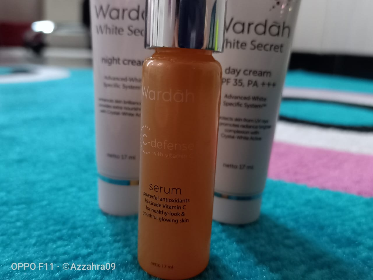 serum wardah, serum wardah agar glowing, serum wardah vitamin C, serum wardah shite secret