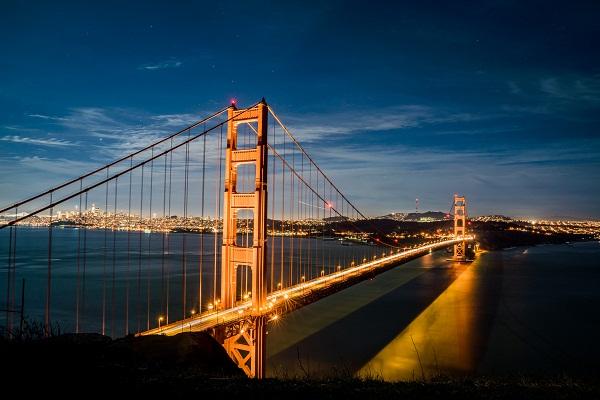 gambar pemandangan jembatan, gambar pemandangan eropa, gambar pemandangan senja, gambar pemandangan matahari terbenam, gambar pemandangan romantis, gambar pemandangan eksotis