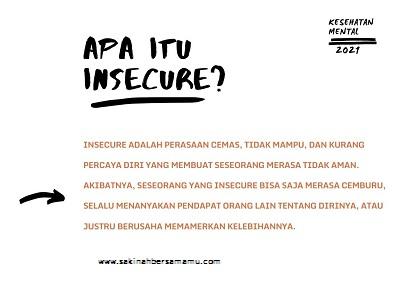 insecure bahasa indonesia nya apa,insecure bersyukur,insecure berat badan,insecure attachment