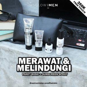 ms glow, skin care cowok, skin care