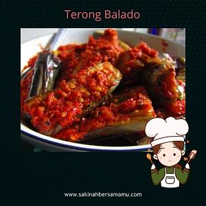 www.sakinahbersamamu.com, terong balado, balado terong, apa saja bumbu terong balado, bagaimana membuat terong balado